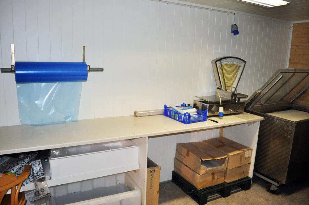 fish packaging room