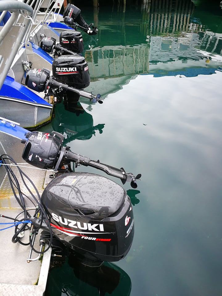 zvejybos katerio variklis